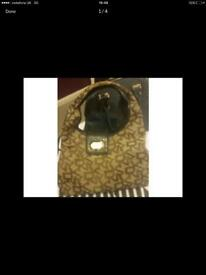 Very good condition original DKNY designer brown, chocolate and black good quality