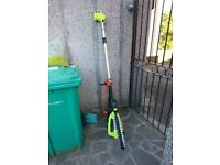 telescopic hedge trimmer reaches 16 feet