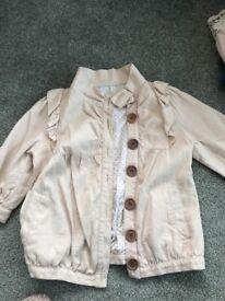 Cute waist cropped jacket.