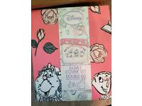 Very rare beauty and the beast bedding double