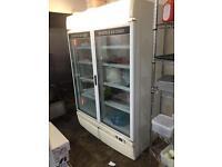 Double door fridge/ freezer