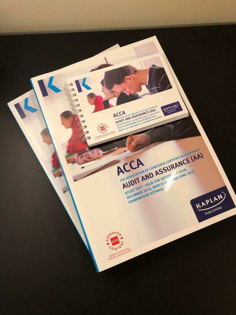 ACCA (F8/AA) Study Text, Kit and Pocket Notes 2018/19 | in Stanningley,  West Yorkshire | Gumtree