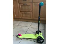 Mini Micro Boys Girls Green Scooter - Excellent Condition