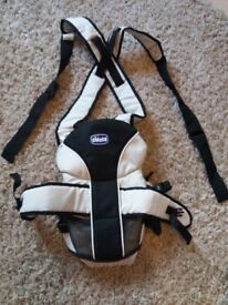 Chicco -adjustable baby carrier- As New