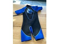 Kids wetsuit - short - age 9 to 10 years