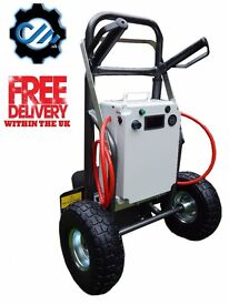WINDOW CLEANING TROLLEY MADE BY CUSTOM MADE UK!! 7AH BATTERY