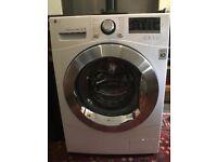 LG Washing Machine 8kg, Direct Drive, White
