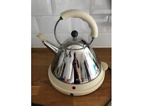 Alessi Electric Bird Kettle in Cream - Used, in good condition