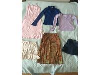 Big Bundle Ladies Girls Summer Clothes Size 6-8 River Island Topshop Dress Skirts Tops