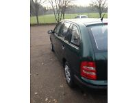 Skoda Fabia 1.4 MPI 8v estate, very low miles, 12 months MOT put on today, recent service