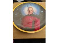 Star trek plates 25th anniversary collection plates