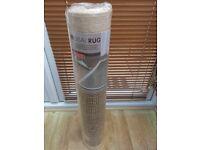 BRAND NEW - (WOVEN) SISAL RUG - MODERN DESIGN - £20
