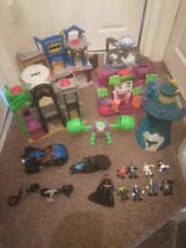 Batman playsets and accessories
