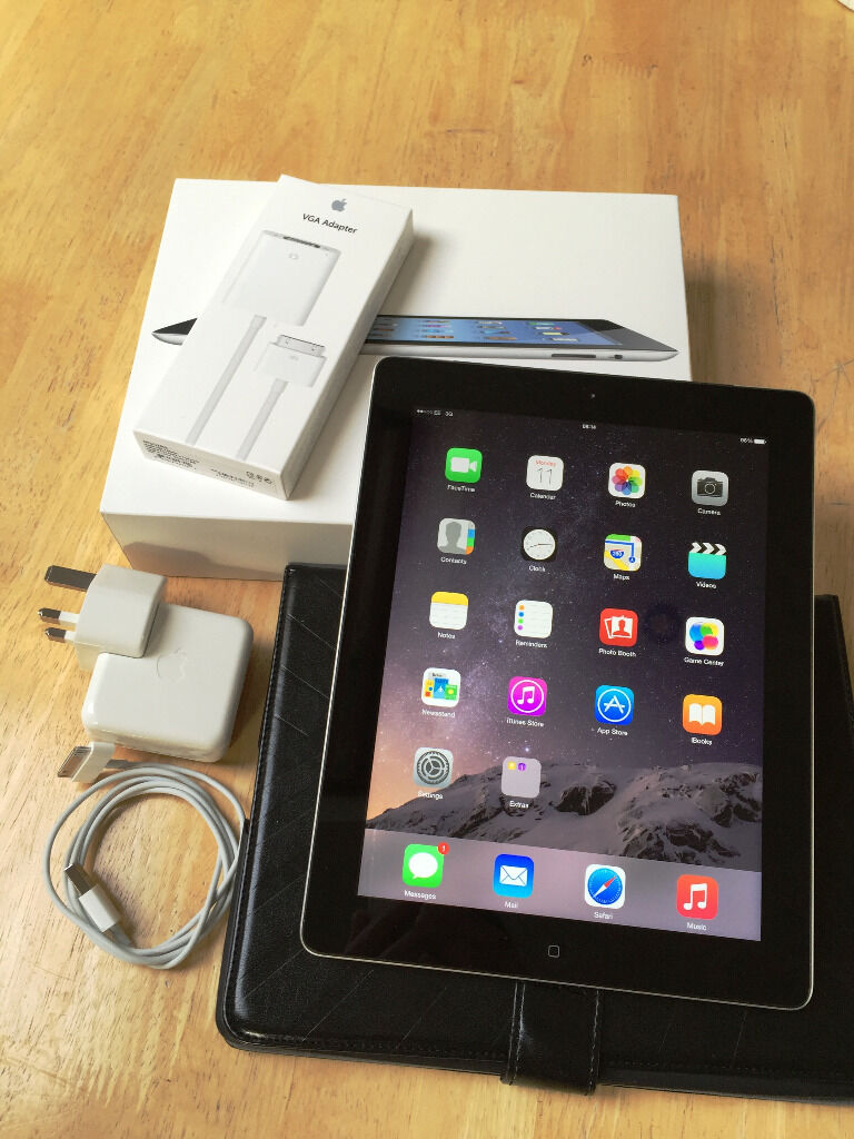 Ipad 3 Black Box Ipad 3 16gb 3g Wifi Black