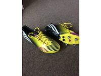Adidas Predator football boots in fabulous condition size 6