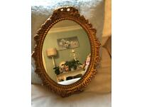 Beautiful small vintage mirror