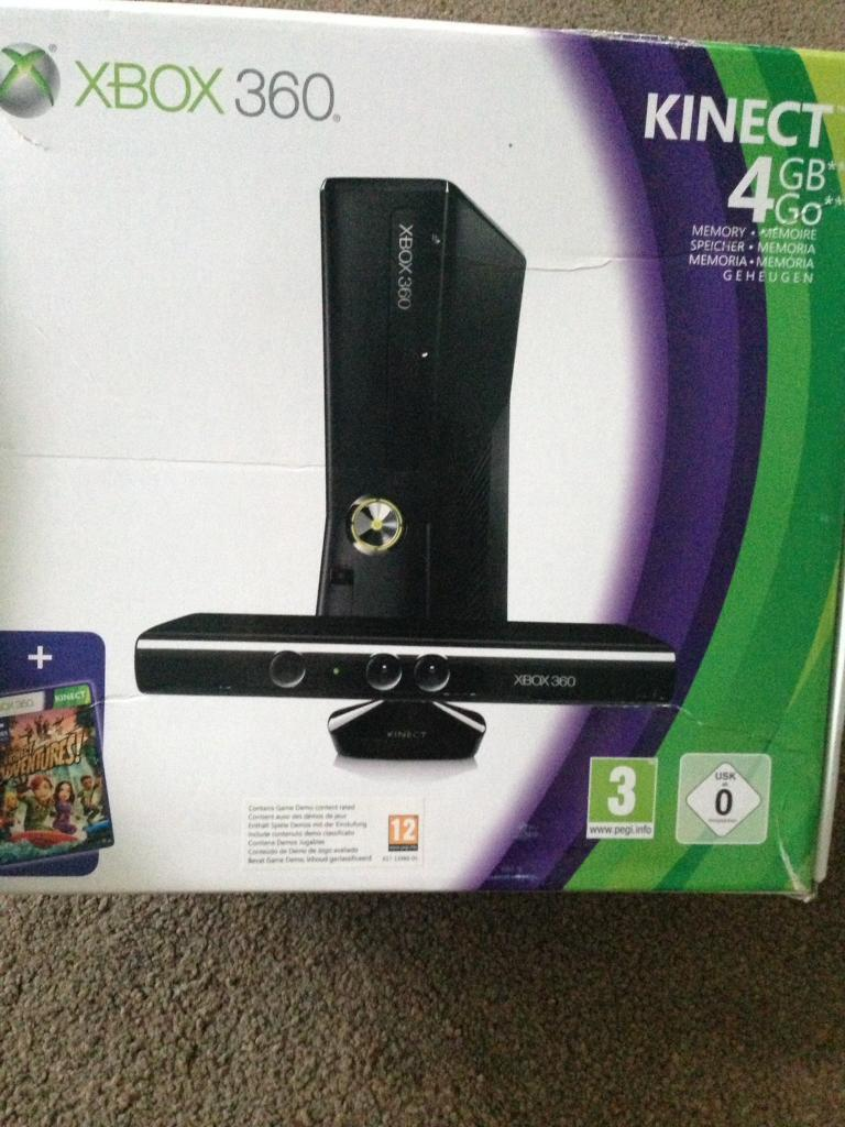 Xbox 360 with Kinect