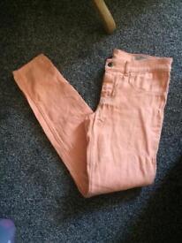 Diesel peach jeans w30