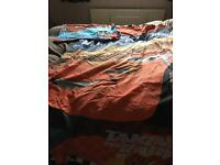 Lightning McQueen single quilt cover and pillow case