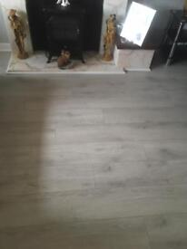 Laminated flooring 12mm
