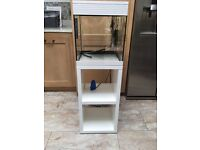 Fish tank/ unit with lots of accessories tropical or cold water