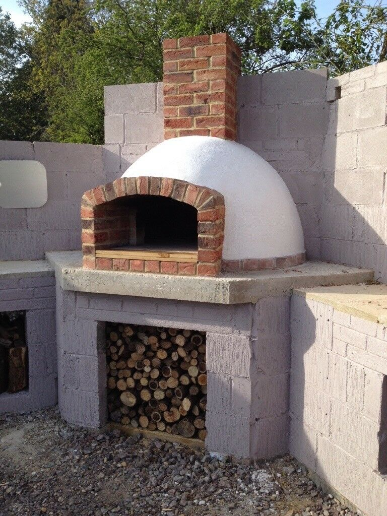 Wood Fired Pizza Oven Plans And Formers And Instructions