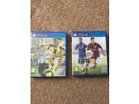PS4 Fifa 15 & 17