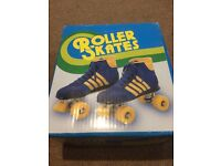 Adult Size 8 Blazer Quad Roller Skates Near New