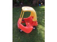 Kids bubble car