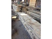 Planked timber