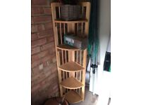 John Lewis folding shelf stand Lovely item vvvgc