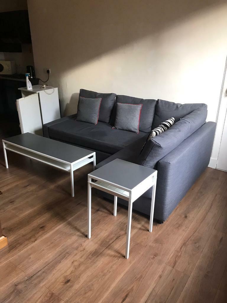 Corner sofa with bed storage   in Haymarket, Edinburgh ...