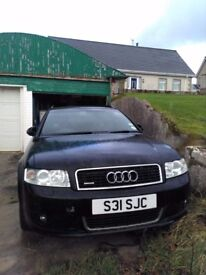 2004 Audi A4 1.8T Quattro S Line needing engine repaired or replaced.