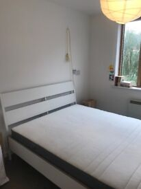 King IKEA Trysil bed frame with FREE Hovag mattress