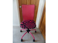 Funky OFFICE CHAIR ...excellent condition....REDUCED!!!