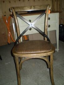 Bentwood X Back Dining Chair