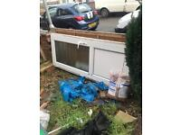 Upvc door free to collect