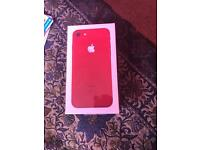 Iphone 7 Product Red 128gb Unlocked Brand New Sealed