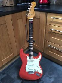 Fender Stratocaster, MIJ, Japan, Seymour duncan everything axe, hardcase, trade, part ex