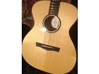 Taran Acoustic Guitar with k&k pick up, stunning instrument