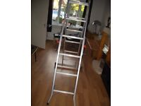 abru ladders with platform