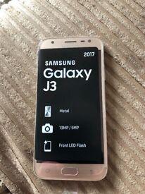 Samsung Galaxy J3 in Gold BNIB