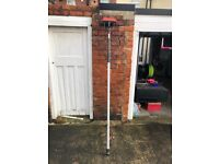 Water fed pole for window cleaning