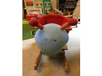 Sit on rocking snail - good used condition