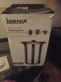 Urn 60 litre brand new used once for a couple of hours still in box