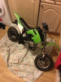 Kids 50cc mini moto