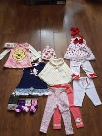 Girls clothes etc all brand new with tags age 9 month to 18 month