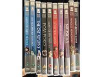 Studio Ghibli dvds