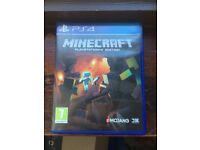 PS4 Minecraft for sale