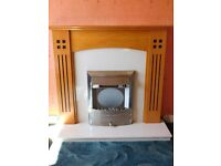 Electric Fire Marble backing